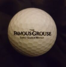 Famous Grouse Whiskey white golfball brand new great christmas gift free uk post