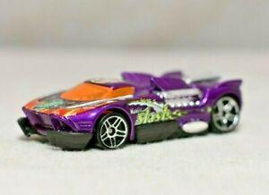 Hot Wheels 2000 MAELSTROM Purple wSnake Mantis Slash MBK Bangkok Thailand  RARE