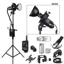 Godox AD360 & PB960 Portable Flash light  + Ft-16 Trigger + Bracket +Light stand