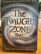 The Twilight Zone: Fan Favorites (DVD, 2016, 5-Disc Set)