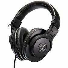 Audio-Technica ATH-M30x Professional Monitor Over the Ear Headphones with Case