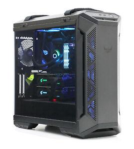 """ASUS ROG Ultimate Gaming PC Ryzen 9 3900X 32GB RTX 2080 Ti SLI + MSI 32"""" Monitor"""