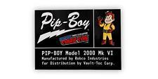 Fallout Pip-Boy Original Personnage Broche Exclusif Rétro Émail Collector Broche