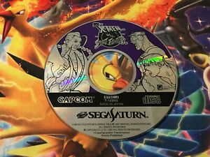 X-Men VS Street Fighter NTSC-J Sega Saturn Game SS DISC ONLY!