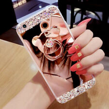 Iphone Case Bling Diamond GOLD Max Cover Iphone X Xs Phone Ring Glitter Mirror