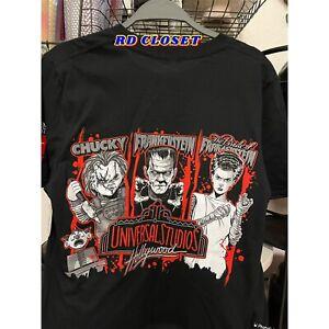 Universal Studios Hollywood 2021 Halloween Horror Nights Pass Member Shirt. M