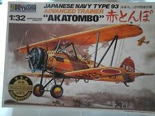 "JAPANESE NAVY TYPE 93 "" AKATOMBO"" 1/32 SCALE DOYUSHA MODEL"