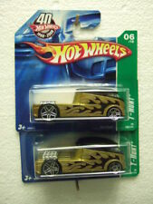 2x HotWheels 2008 TH6/12  #166 '69 Qombee, diff. shade, on short card