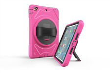 For Apple iPad Deluxe Shockproof Heavy Duty Rubber With Hard Stand Case Cover