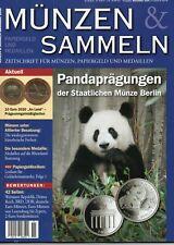 Münzen & Sammeln 11/2020 Pandaprägungen der Staatlichen Münze Berlin. ungelesen