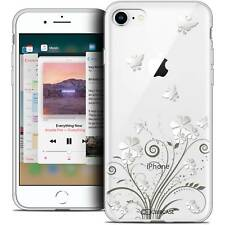 """Coque Crystal Gel Pour iPhone 8 (4.7"""") Extra Fine Souple Summer Papillons"""