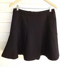 Portmans Women's Black Skirt - Size 12