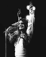 Rock & Roll Singer OZZY OSBOURNE Glossy 8x10 Photo Print Black Sabbath Poster