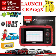 LAUNCH X431 CRP123X OBD2 Car Diagnostic Tool EOBD Scanner Code Reader ABS SRS