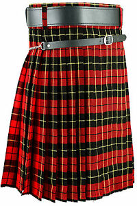 Scottish Mens Wallace Kilt Tartan Kilts All sizes