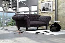 Madryt Sofa 2-Sitzer Couch Wohnlandschaft Steppungen Chesterfield 1082