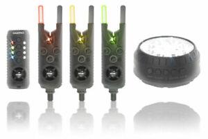 Sonik Gizmo Alarm & Receiver Set 3 +1  And Bivvy Light  HC0004