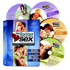 Better Sex Video Series: Sexplorations Vol 1, 2, 3 + Music (4 DVD Collector Set)