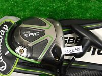 Callaway GBB Epic 10.5* Driver Rogue Max 65 Stiff Graphite with Headcover & Tool