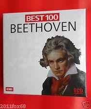 best 100 beethoven symphonies concertos the piano fidelio pastorale 6 CD booklet