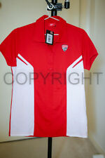 DUCATI CORSE ´14 Women's Meryl Polo Short Sleeve LADY red white NWT 2014 XS