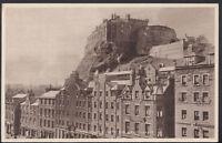 Scotland Postcard - Edinburgh Castle From The Grassmarket  RS3211