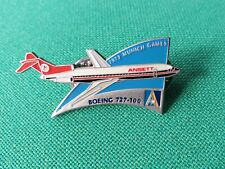 ANSETT AUSTRALIA OLYMPIC HISTORICAL AIRCRAFT PIN - BOEING 727-100