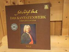 Bach Complete Cantatas Vol.4 BWV 12-16 HARNONCOURT TELEFUNKEN 2 LP BOX NM