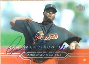 Armando Benitez Autographed 2005 Upper Deck #398