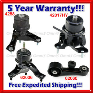 N030 Fits 2013-2018 Toyota Avalon 3.5L w/ AUTO Engine Motor & Trans Mount set
