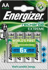 4 batterie AA Stilo ricaricabili 2300 mAh ENERGIZER pronte all'uso ALTA QUALITA'