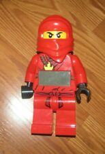 Lego Red Ninjago Figure (Red Ninja Kia) Alarm Clock No Sword