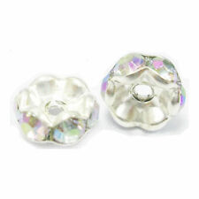 Rondelle 12 - 12.9 mm Size Jewellery Making Craft Beads