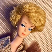 Vintage Barbie Bubble Cut Ash Blonde FACE AND BODY OF A GODDESS!