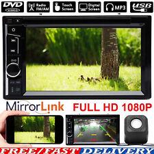 Car Radio Player Auto Stereo Bluetooth Dvd Hd Fm Aux Mp3 2din Mp3 Cd Mirror Link