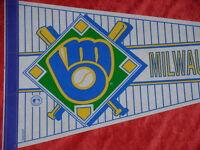 Milwaukee Brewers Vintage Baseball Pennant