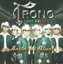 FREE US SHIP. on ANY 3+ CDs! NEW CD El Trono de Mexico: Hasta Mi Final