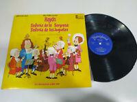 """Walt Disney J Haydn Sinfonia Überraschung Spielzeug 1970 - LP Märchen 12 """" Vinyl"""
