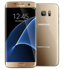 New Unlocked Samsung Galaxy S7 Edge G935A Gold AT&T Straight Talk H2O Cricket