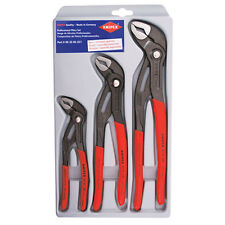 Knipex 002006US1 3-Pc Cobra Pliers Set 7/10/12""