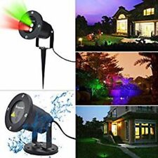Erligpowht Outdoor Laser Landscape Projector Light Red and Green Waterproof ~NEW