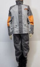 Harley Davidson 3pc Rain Suit Bibs Reflective Jacket Pants Hood - XXS XX SMALL