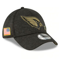 New Arizona Cardinals New Era 2020 Salute to Service Sideline 39THIRTY Flex Hat