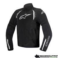 ALPINESTARS Motorradjacke AST AIR Jacke Textil schwarz mit Protektoren Gr. L