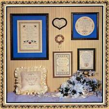 Mill Pond Designs TO HAVE AND TO HOLD 6 Cross Stitch Designs/Leaflet ~ wedding