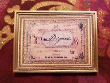 Bezoar Box Label Poison Antidote Handmade Christmas Ornament Harry Potter Fan