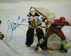 GFA 1980 Olympic Champion Goalie JIM CRAIG Signed 8x10 Photo COA