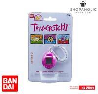 Bandai Tamagotchi 20th Anniversary Series 2 Chibi Purple With Pink