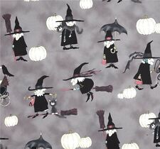 Alexander Henry witché woman Halloween patchwork tissu sorcières