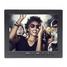"""Mini 8"""" TFT LCD Color Monitor 1024*768 VGA Vídeo BNC Audio para PC,CCTV VCD Bank"""